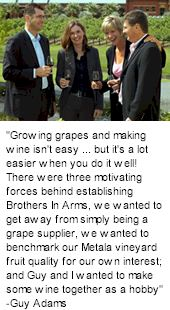 http://www.brothersinarms.com.au/ - Brothers in Arms - Tasting Notes On Australian & New Zealand wines