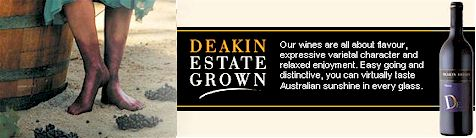 http://www.deakinestate.com.au/ - Deakin Estate - Tasting Notes On Australian & New Zealand wines