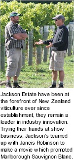 http://www.jacksonestate.co.nz/ - Jackson Estate - Tasting Notes On Australian & New Zealand wines