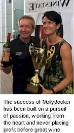 http://www.mollydookerwines.com.au/ - Mollydooker - Tasting Notes On Australian & New Zealand wines