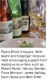 http://kreglingerwineestates.com/ - Pipers Brook Estate - Tasting Notes On Australian & New Zealand wines