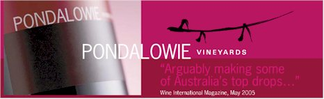 http://www.pondalowie.com.au/ - Pondalowie - Tasting Notes On Australian & New Zealand wines
