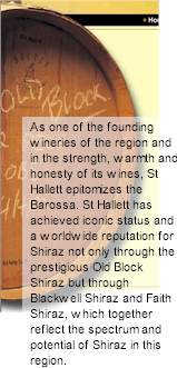 http://www.sthallett.com.au/ - St Hallett - Tasting Notes On Australian & New Zealand wines