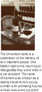 http://www.chrismont.com.au/ - Chrismont - Tasting Notes On Australian & New Zealand wines
