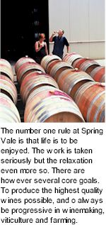 http://www.springvalewines.com/ - Spring Vale - Tasting Notes On Australian & New Zealand wines