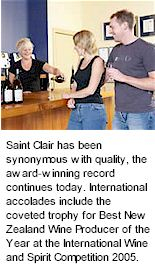 http://www.saintclair.co.nz/ - Saint Clair - Tasting Notes On Australian & New Zealand wines