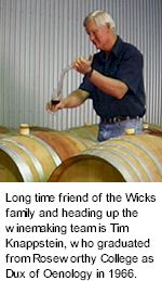 http://www.wicksestate.com.au/ - Wicks - Tasting Notes On Australian & New Zealand wines